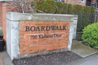 "Photo 2: 207 700 KLAHANIE Drive in Port Moody: Port Moody Centre Condo for sale in ""Boarwalk"" : MLS®# R2021637"