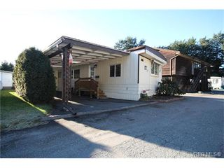 Photo 1: 31 2807 Sooke Lake Rd in VICTORIA: La Langford Proper Manufactured Home for sale (Langford)  : MLS®# 750038