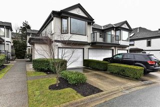 """Photo 1: 8 15840 84 Avenue in Surrey: Fleetwood Tynehead Townhouse for sale in """"FLEETWOOD GABLES"""" : MLS®# R2138711"""
