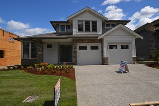 """Photo 1: 3830 COACHSTONE Way in Abbotsford: Abbotsford East House for sale in """"CREEKSTONE ON THE PARK"""" : MLS®# R2159860"""