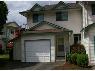 "Photo 1: 9 45640 STOREY Avenue in Sardis: Sardis West Vedder Rd Townhouse for sale in ""Whispering Pines"" : MLS®# R2175072"