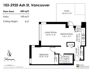 "Photo 12: 103 2920 ASH Street in Vancouver: Fairview VW Condo for sale in ""Ash Court"" (Vancouver West)  : MLS®# R2226692"