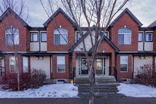 Main Photo: 17 5281 TERWILLEGAR Boulevard in Edmonton: Zone 14 Townhouse for sale : MLS®# E4136601