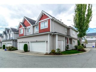 "Photo 1: 19 19977 71ST Avenue in Langley: Willoughby Heights Townhouse for sale in ""SANDHILL VILLAGE"" : MLS®# R2330677"