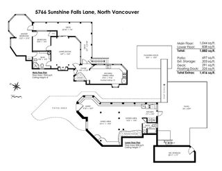 Photo 20: 5766 SUNSHINE FALLS Lane in North Vancouver: Woodlands-Sunshine-Cascade House for sale : MLS®# R2363310