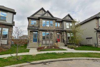 Photo 1: 112 GILMORE Way: Spruce Grove House Half Duplex for sale : MLS®# E4156448