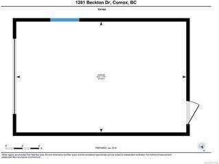 Photo 34: 1281 BECKTON DRIVE in COMOX: CV Comox (Town of) House for sale (Comox Valley)  : MLS®# 817184