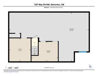 Photo 40: 7207 May Road in Edmonton: Zone 14 House Half Duplex for sale : MLS®# E4192684