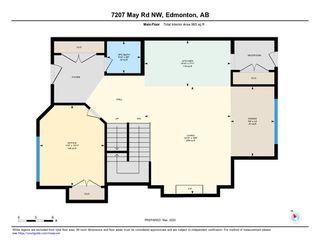 Photo 38: 7207 May Road in Edmonton: Zone 14 House Half Duplex for sale : MLS®# E4192684