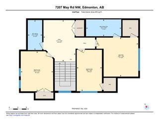 Photo 39: 7207 May Road in Edmonton: Zone 14 House Half Duplex for sale : MLS®# E4192684