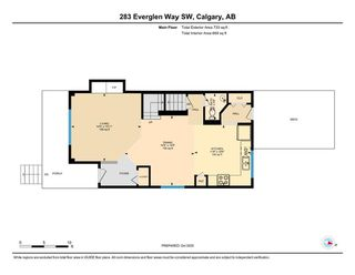 Photo 15: 283 Everglen Way SW in Calgary: Evergreen Detached for sale : MLS®# A1041697