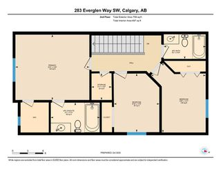 Photo 28: 283 Everglen Way SW in Calgary: Evergreen Detached for sale : MLS®# A1041697