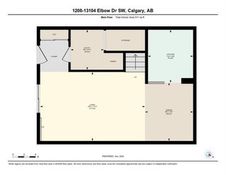 Photo 25: 1208 13104 Elbow Drive SW in Calgary: Canyon Meadows Row/Townhouse for sale : MLS®# A1051272