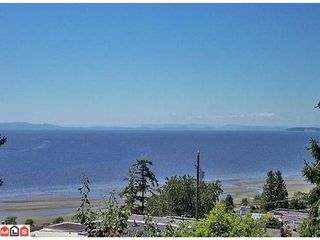 Photo 1: 14884 HARDIE AV in White Rock: House for sale : MLS®# F1105489