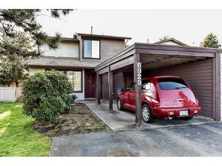 "Photo 1: 6929 135TH Street in Surrey: West Newton House 1/2 Duplex for sale in ""Bentley"" : MLS®# F1432767"