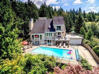 "Photo 1: 4980 ROBSON Road: Belcarra House for sale in ""Belcarra"" (Port Moody)  : MLS®# R2098721"