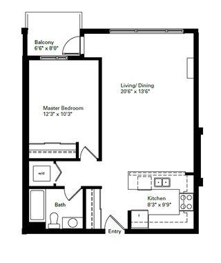 "Photo 2: 402 12075 228 Street in Maple Ridge: East Central Condo for sale in ""RIO"" : MLS®# R2139059"