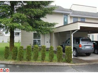 Photo 1: 284 32550 MACLURE Road in Abbotsford: Abbotsford West Townhouse for sale : MLS®# R2149060