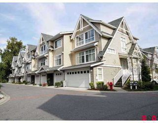 """Photo 1: 6450 199TH Street in Langley: Willoughby Heights Townhouse for sale in """"Logan's Landing"""" : MLS®# F2702105"""
