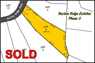 Main Photo: Lot 4 Recline Ridge Road in Tappen: Land Only for sale : MLS®# 10176926
