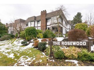 """Photo 1: 103 1379 MERKLIN Street: White Rock Condo for sale in """"The Rosewood"""" (South Surrey White Rock)  : MLS®# R2242264"""