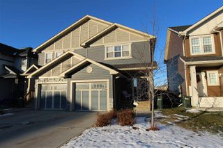 Main Photo: 7558 ELLESMERE Way: Sherwood Park House Half Duplex for sale : MLS®# E4136170