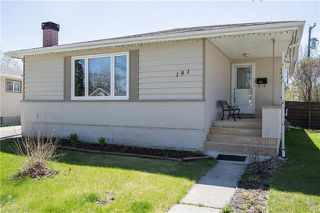 Photo 1: 181 Browning Boulevard in Winnipeg: Westwood Residential for sale (5G)  : MLS®# 1905879