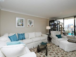 Photo 2: 708 225 Belleville St in VICTORIA: Vi James Bay Condo for sale (Victoria)  : MLS®# 811585