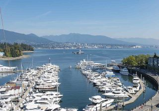 """Photo 3: 803 499 BROUGHTON Street in Vancouver: Coal Harbour Condo for sale in """"DENIA"""" (Vancouver West)  : MLS®# R2373503"""
