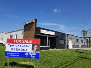 Photo 1: 8830 YELLOWHEAD Trail NW in Edmonton: Zone 08 Industrial for sale or lease : MLS®# E4201058