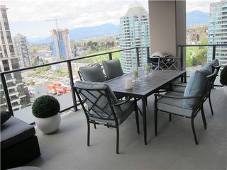 "Photo 8: 2206 2077 ROSSER Avenue in Burnaby: Brentwood Park Condo for sale in ""VANTAGE"" (Burnaby North)  : MLS®# V1062601"
