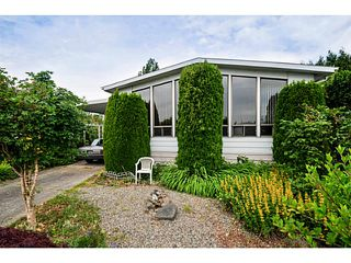 """Main Photo: 7 1640 162ND Street in Surrey: King George Corridor Manufactured Home for sale in """"Cherry Brook Park"""" (South Surrey White Rock)  : MLS®# F1442646"""