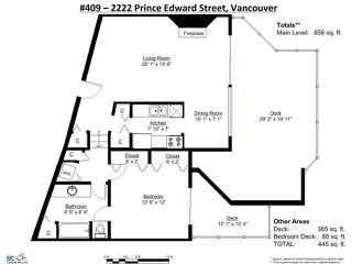 """Photo 17: 409 2222 PRINCE EDWARD Street in Vancouver: Mount Pleasant VE Condo for sale in """"SUNRISE ON THE PARK"""" (Vancouver East)  : MLS®# V1126031"""