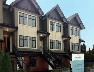 "Photo 1: 203 7180 BARNET Road in Burnaby: Westridge BN Townhouse for sale in ""PACIFICO"" (Burnaby North)  : MLS®# R2116637"