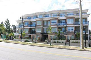 """Photo 1: 305 630 COMO LAKE Avenue in Coquitlam: Coquitlam West Condo for sale in """"COMO LIVING"""" : MLS®# R2142810"""