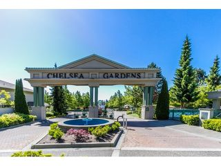 "Photo 1: 239 13888 70 Avenue in Surrey: East Newton Townhouse for sale in ""CHELSEA GARDENS"" : MLS®# R2147499"