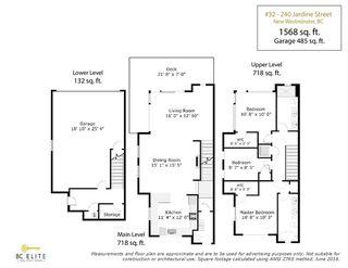 "Photo 20: 32 240 JARDINE Street in New Westminster: Queensborough Townhouse for sale in ""Queen's Park Estate"" : MLS®# R2281051"