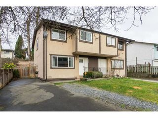 Photo 1: 32401 GREBE Crescent in Mission: Mission BC House 1/2 Duplex for sale : MLS®# R2335806