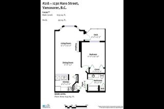 Photo 20: 218 1230 HARO Street in Vancouver: West End VW Condo for sale (Vancouver West)  : MLS®# R2371358