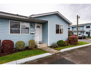 "Photo 1: 8 9444 WOODBINE Street in Chilliwack: Chilliwack E Young-Yale Townhouse for sale in ""REGENCY PLACE"" : MLS®# R2420570"