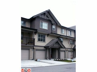 Photo 1: 18 9525 204TH Street in Langley: Walnut Grove Townhouse for sale : MLS®# F1107138