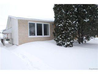 Photo 1: 1175 Polson Avenue in WINNIPEG: North End Residential for sale (North West Winnipeg)  : MLS®# 1400336