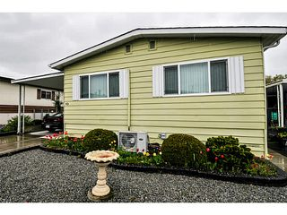"""Main Photo: 40 1640 162 Street in Surrey: King George Corridor Manufactured Home for sale in """"CherryBrook Park"""" (South Surrey White Rock)  : MLS®# F1437420"""