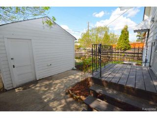 Photo 16: Belmont Avenue in Winnipeg: Residential for sale : MLS®# 1511475
