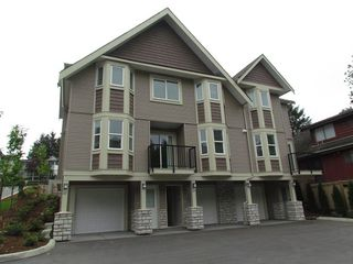 "Photo 1: 23 33313 GEORGE FERGUSON Way in Abbotsford: Central Abbotsford Townhouse for sale in ""Cedar Lane"" : MLS®# R2012512"