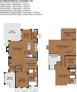 Photo 32: 23 PRESTWICK Landing SE in Calgary: McKenzie Towne House for sale : MLS®# C4128770