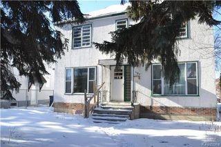 Main Photo: 457 Montrose Street in Winnipeg: Residential for sale (1C)  : MLS®# 1802966