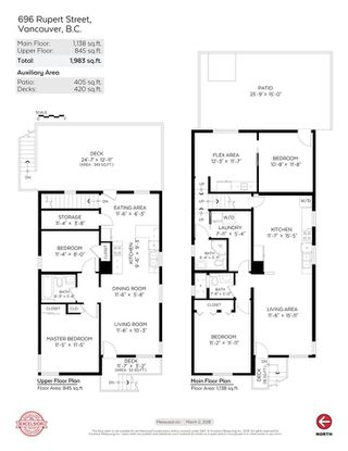 Photo 20: 696 RUPERT Street in Vancouver: Renfrew VE House for sale (Vancouver East)  : MLS®# R2244648