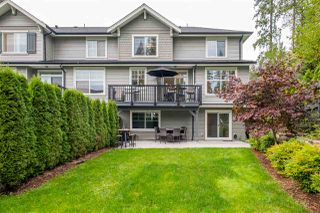 "Photo 1: 49 3470 HIGHLAND Drive in Coquitlam: Burke Mountain Townhouse for sale in ""BRIDLEWOOD"" : MLS®# R2510605"