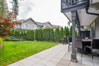 "Photo 36: 49 3470 HIGHLAND Drive in Coquitlam: Burke Mountain Townhouse for sale in ""BRIDLEWOOD"" : MLS®# R2510605"